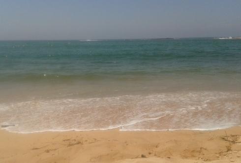 O mar recortado