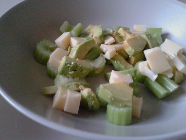 salada de aipo