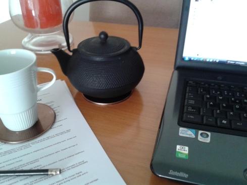 A hora do chá