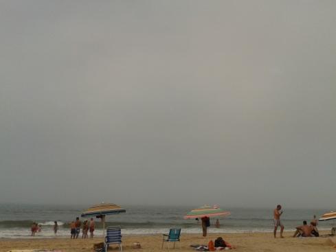 Nevoeiro na praia (Sao Joao)
