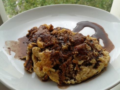 omelete de fruta