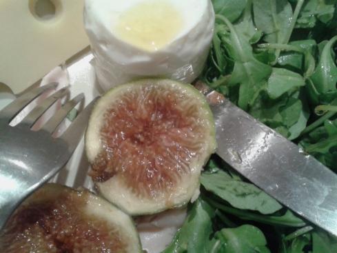 salada com figos