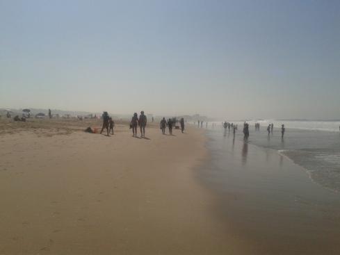 Praia S.Joao (manhã de setembro)