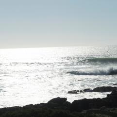 Praia das Maças, as ondas