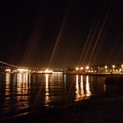 Lisboa a cidade a noite