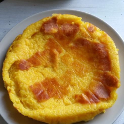pudim bolo laranja