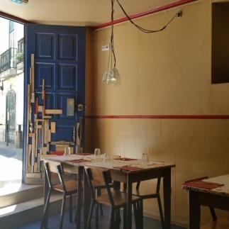 Interior do restaurante