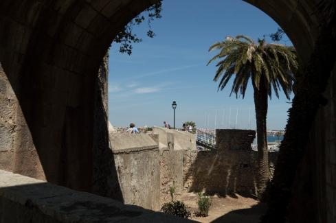 Cascais com mar (a partir da Torre de Santo Antonio)