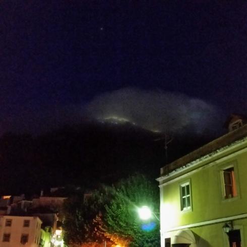 A noite em Sintra
